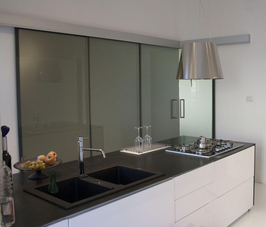 Good parete divisoria cucina soggiorno pareti divisorie e porte in vetro per cucina e soggiorno - Parete divisoria cucina soggiorno ...